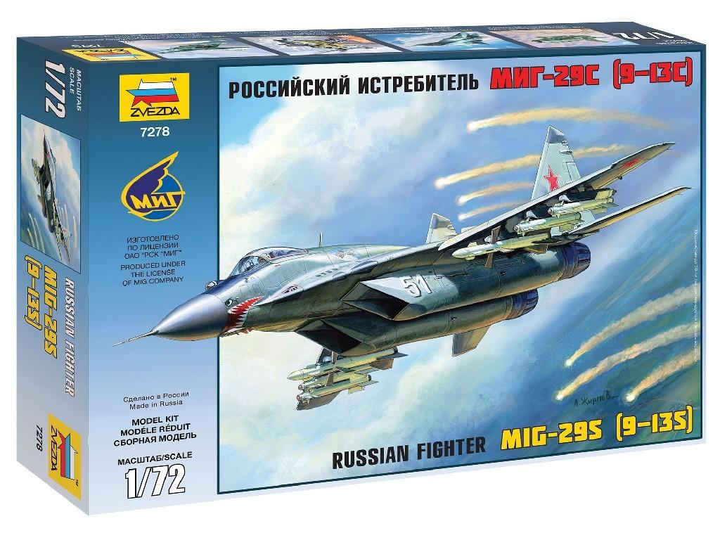 1/72 Plastikový model - letadlo 7278 - MiG-29 (9-13)