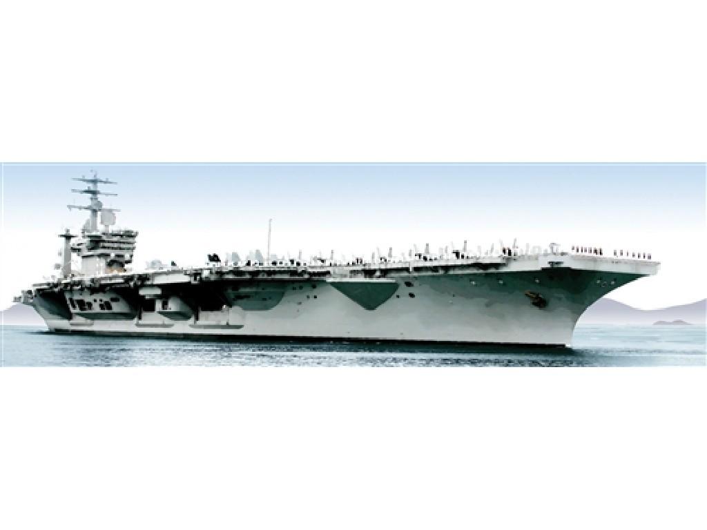 1/720 Plastikový model - loď 0503 - U.S.S. NIMITZ CVN-68