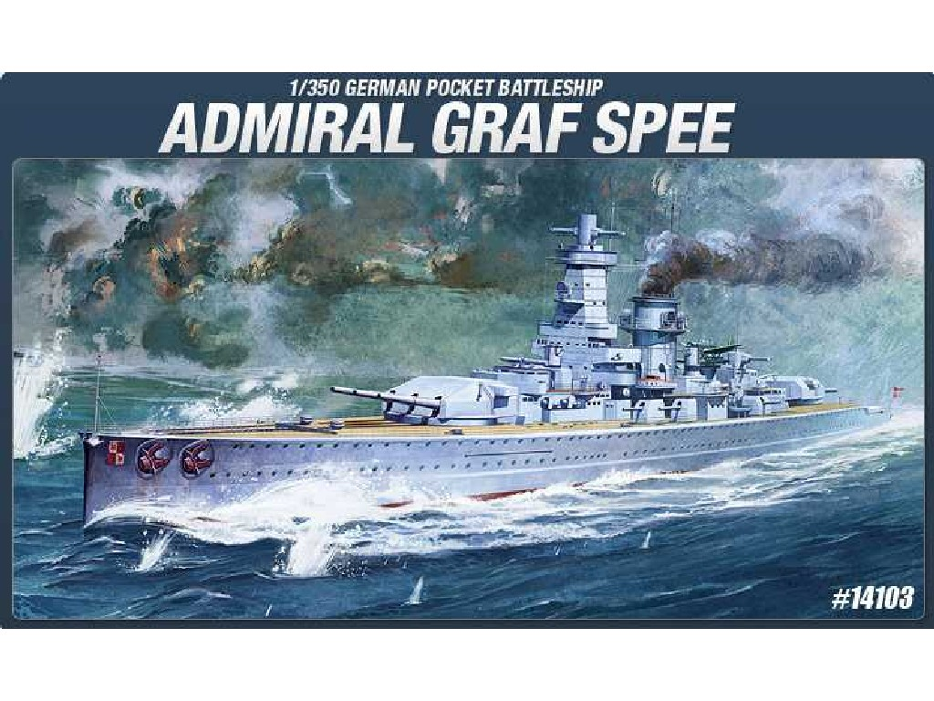 1/350 Plastikový model - loď 14103 - GRAF SPEE