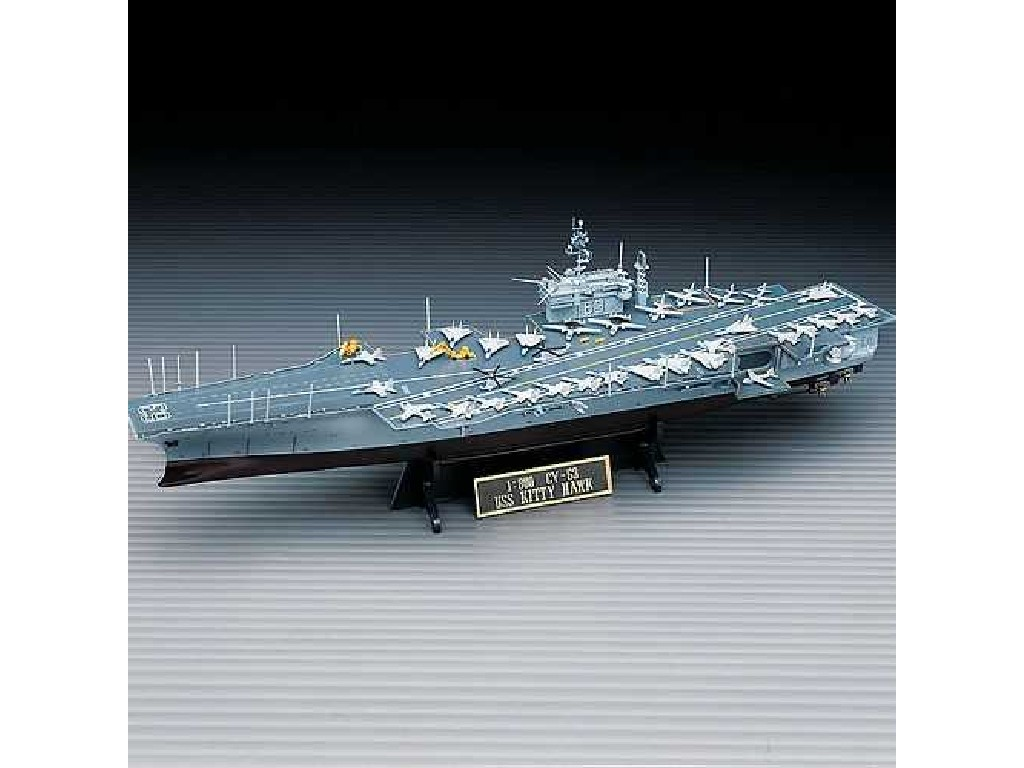 1/800 Plastikový model - loď 14210 - USS CV-63 KITTY HAWK