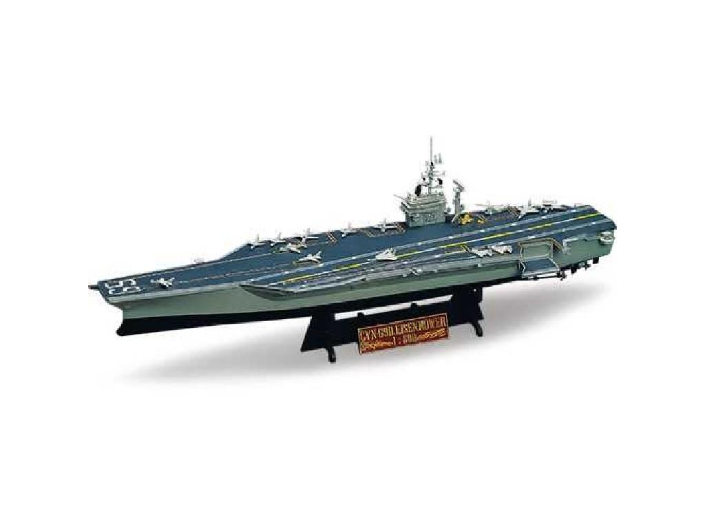 1/800 Plastikový model - loď 14212 - USS CVN-69 EISENHOWER