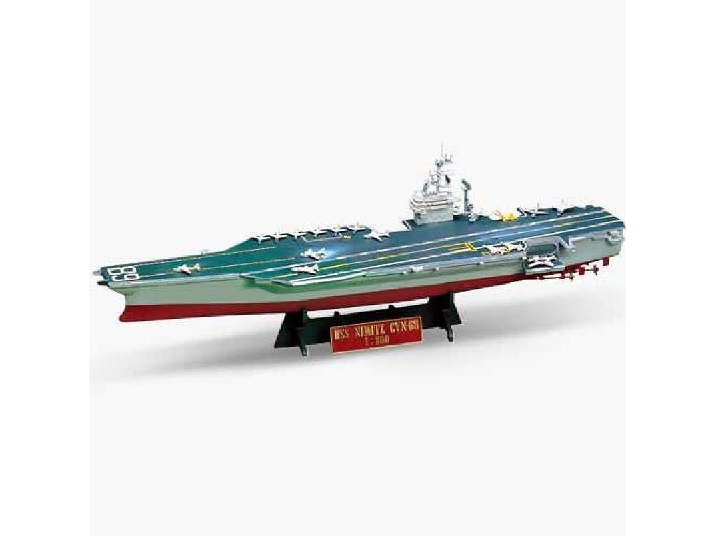 1/800 Plastikový model - loď 14213 - USS NIMITZ