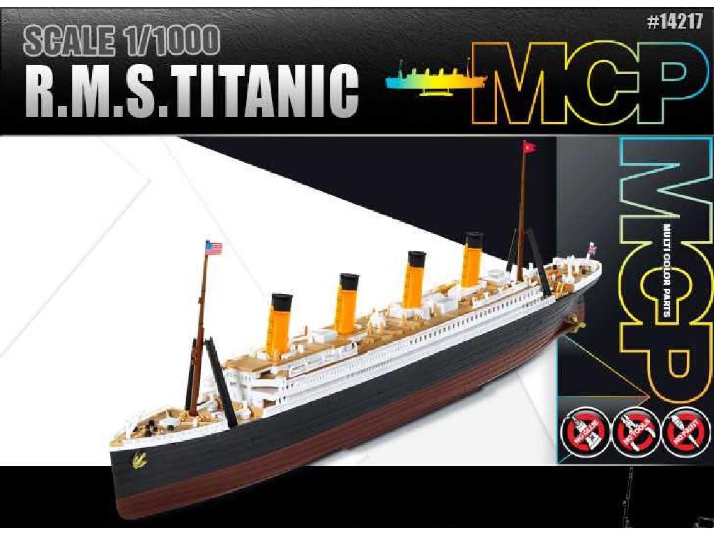 1/1000 Model Kit loď 14217 - RMS TITANIC MCP