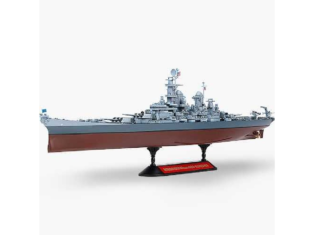 1/700 Plastikový model - loď 14222 - USS Missouri BB-63 MCP