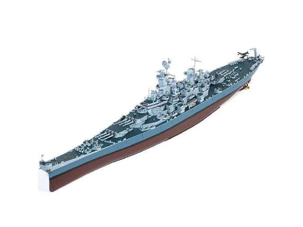 1/400 Plastikový model - loď 14401 - USS Missouri BB-63
