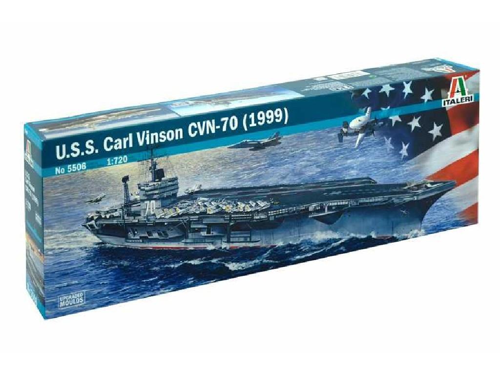 1/720 Plastikový model - loď 5506 - U.S.S. CARL VINSON CVN-70 (1999)