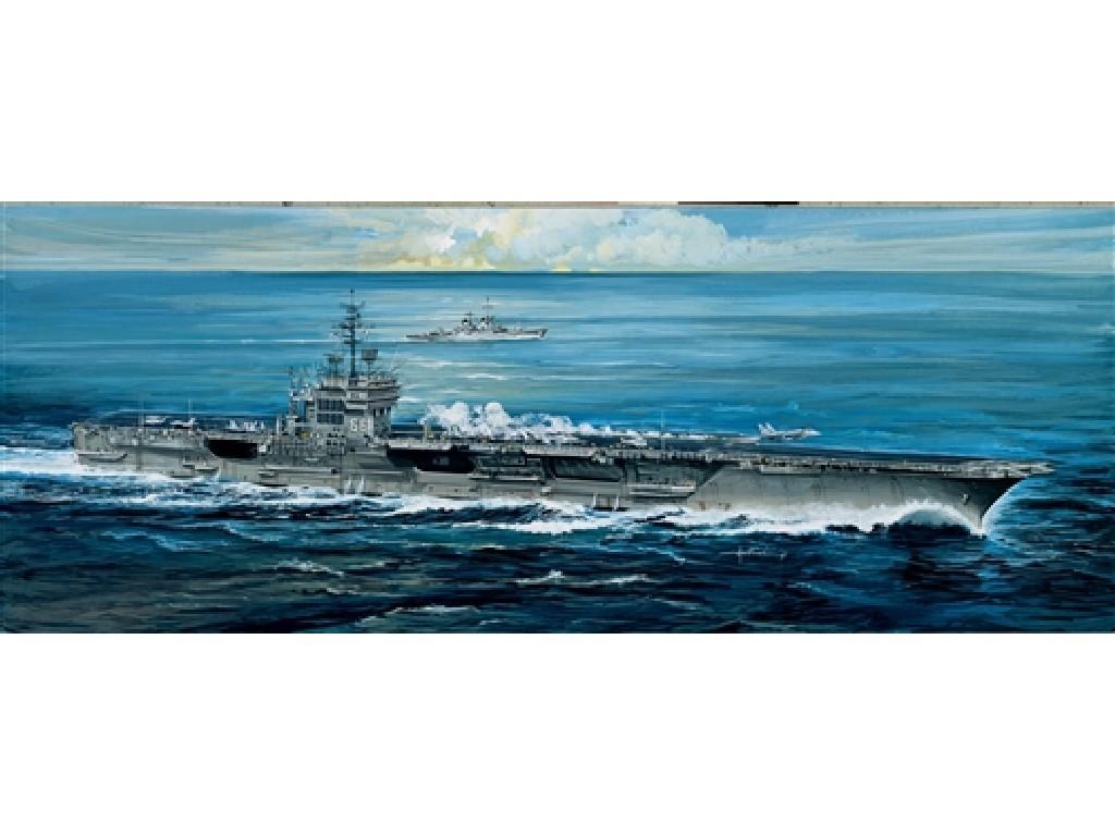 1/720 Plastikový model - loď 5521 - U.S.S. AMERICA CV-66