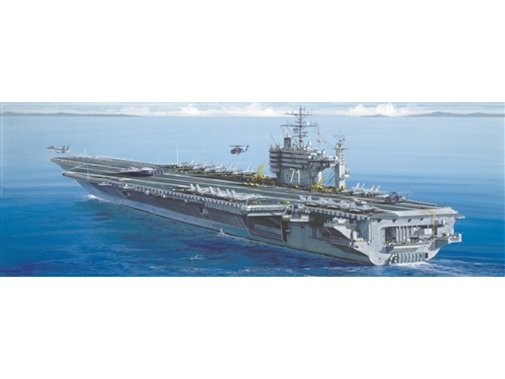 1/720 Plastikový model - loď 5531 - U.S.S. ROOSEVELT CVN-71