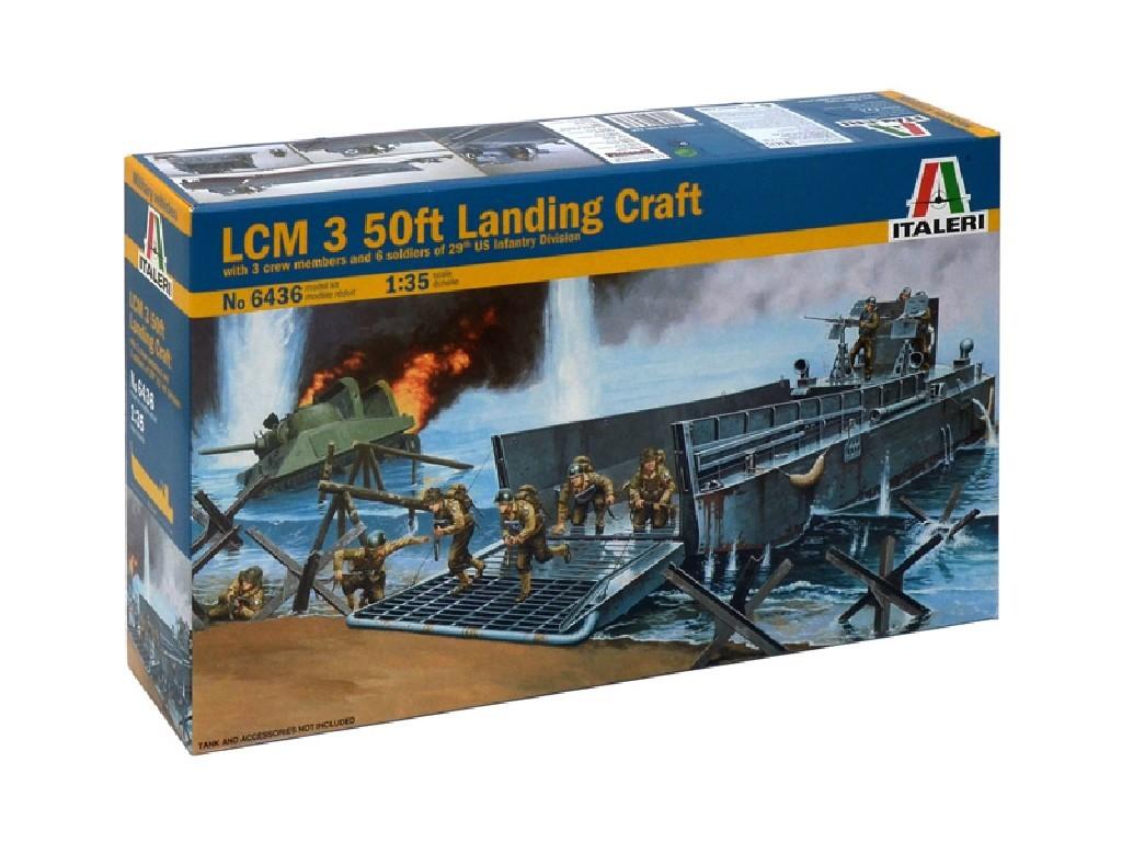 1/35 Plastikový model - loď 6436 - LCM Landing craft