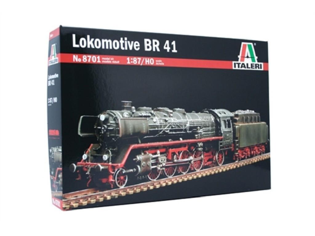 1/87 Plastikový model - lokomotiva 8701 - Lokomotive BR41 / HO