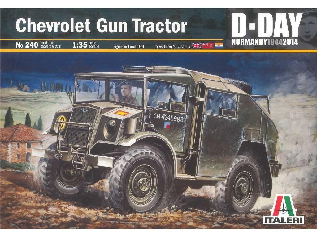 1/35 Plastikový model - military 0240 - Chevrolet Gun Tractor