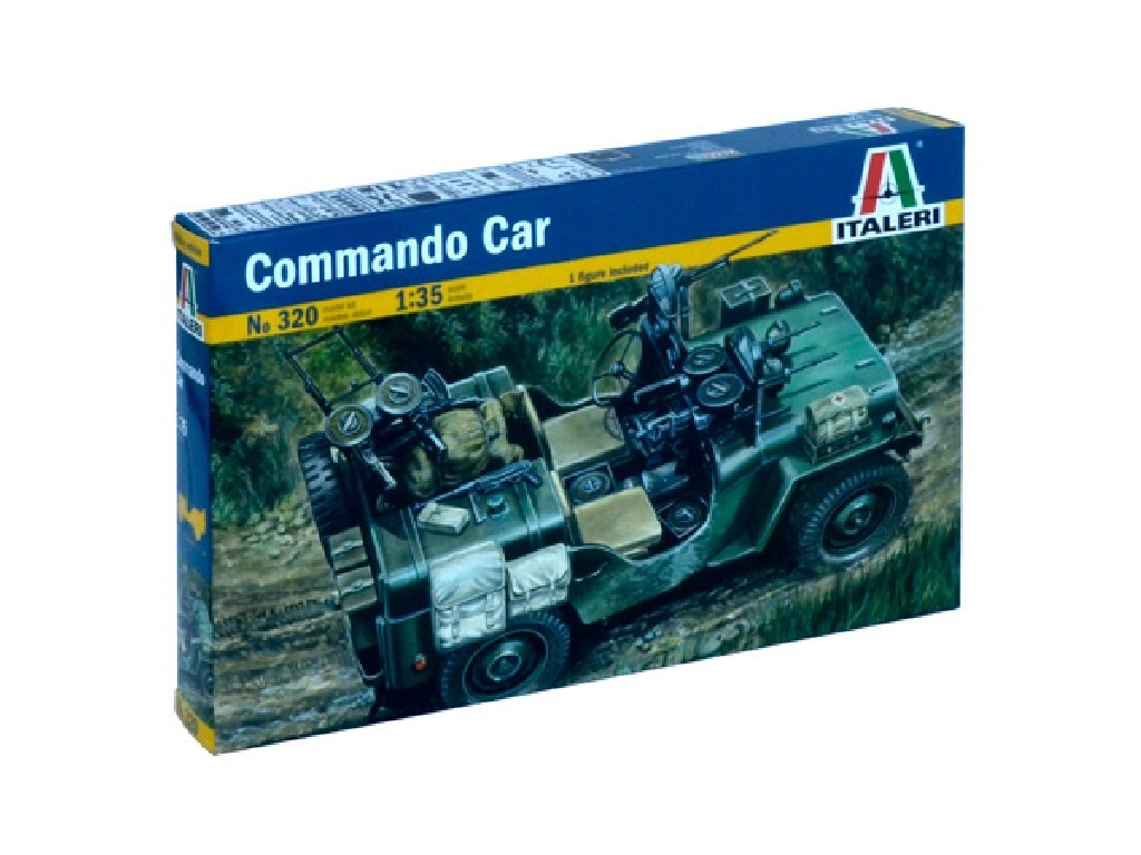 1/35 Plastikový model - military 0320 - COMMANDO CAR