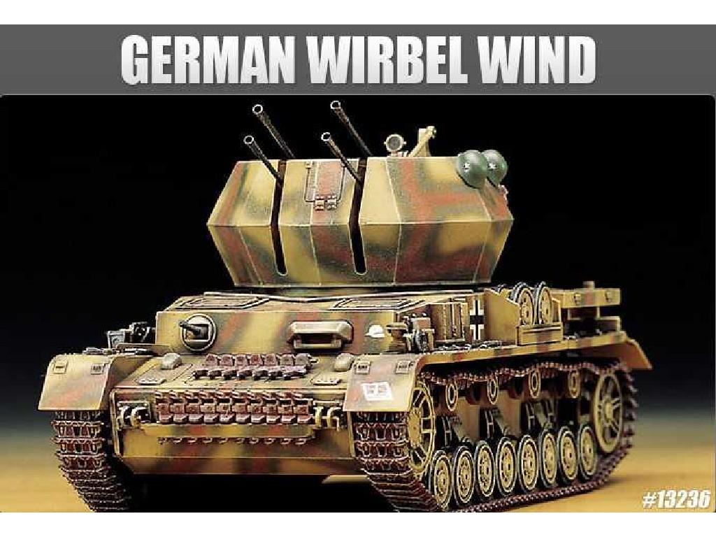 1/35 Plastikový model - military 13236 - GERMAN WIRBEL WIND