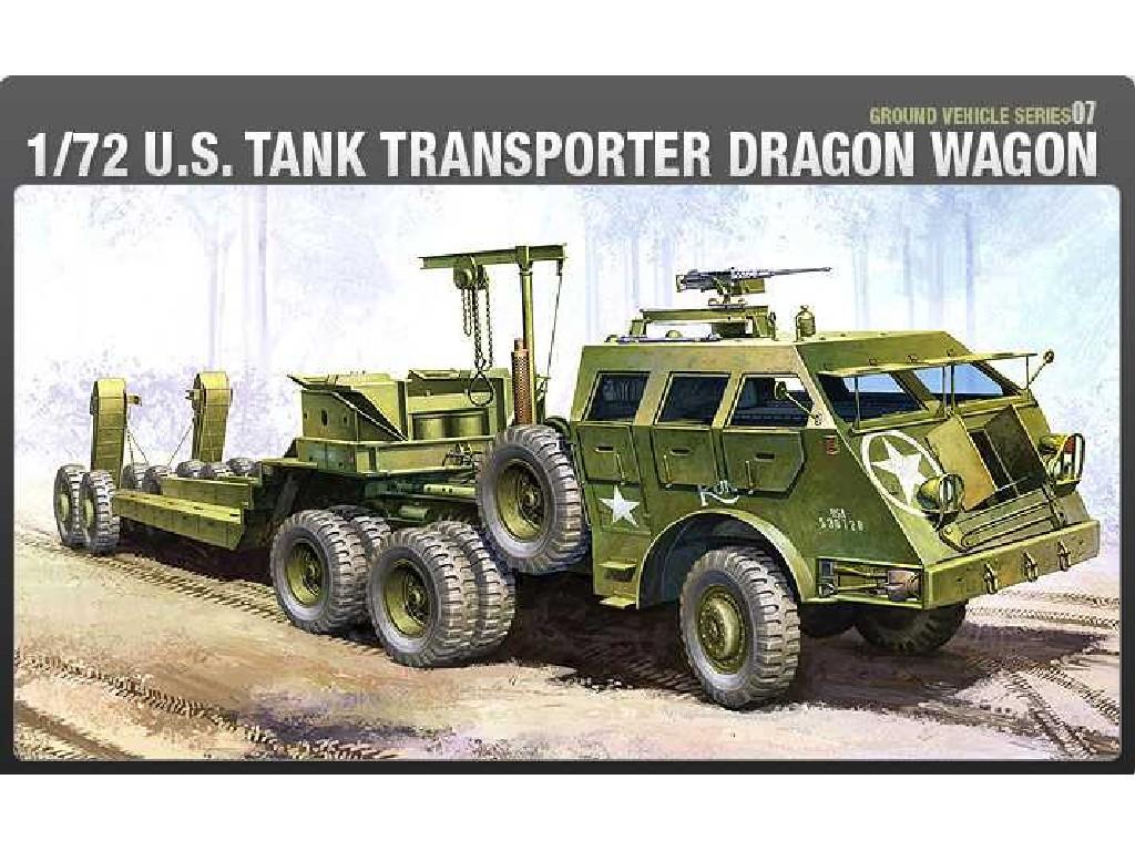 1/72 Plastikový model - military 13409 - M26 DRAGON WAGON
