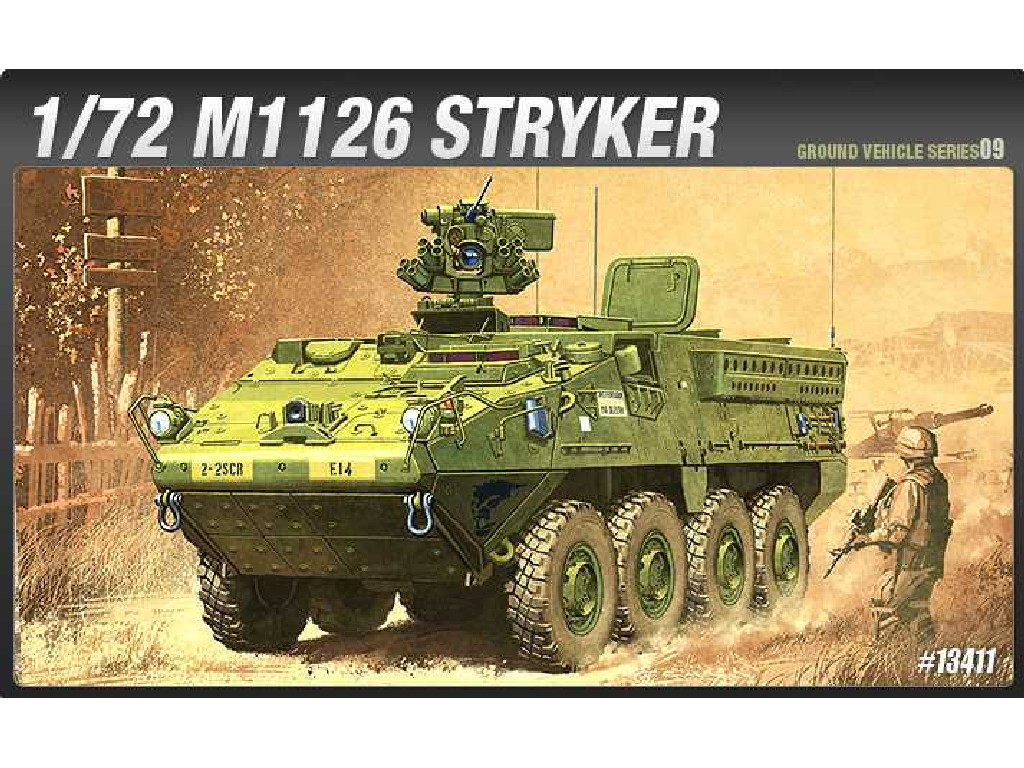 1/72 Plastikový model - military 13411 - M1126 STRYKER