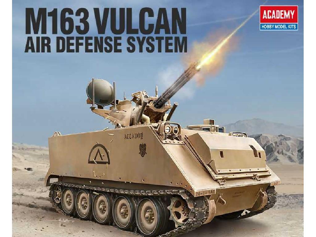 1/35 Plastikový model - military 13507 - US ARMY M163 VULCAN