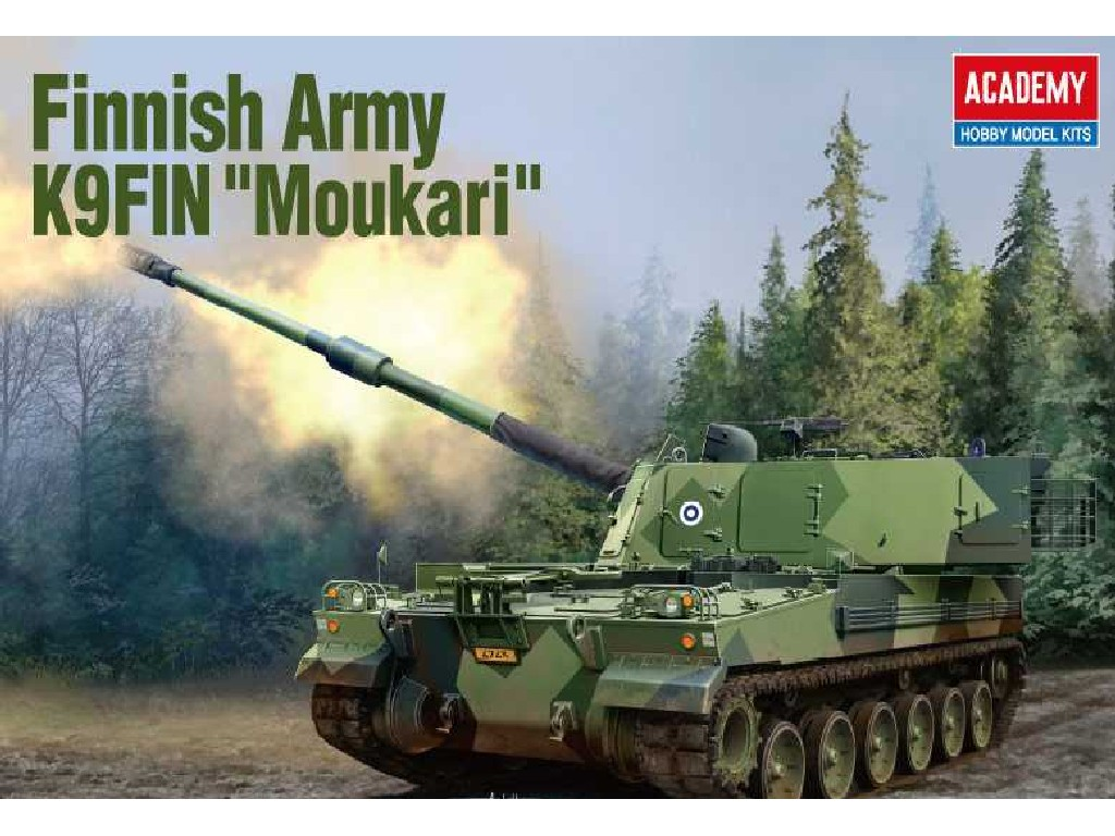 1/35 Plastikový model - military 13519 - Finnish Army K9FIN Moukari