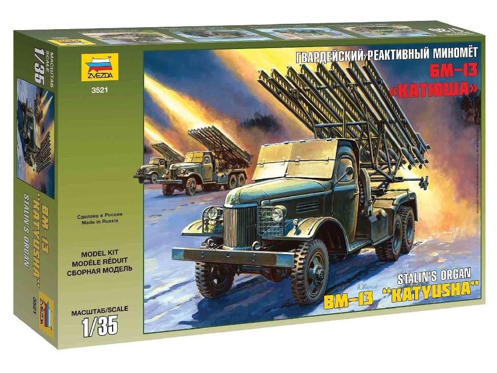 1/35 Plastikový model - military 3521 - BM-13 Katyusha