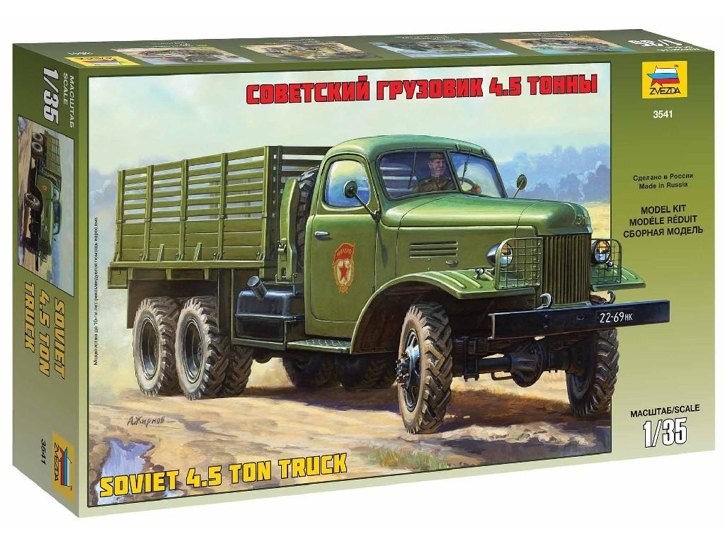 1/35 Plastikový model - military 3541 - ZIS-151 Soviet Truck