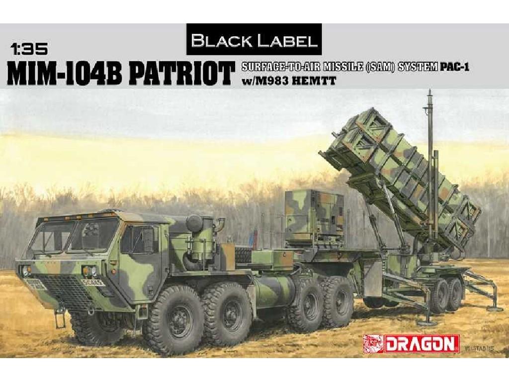 1/35 Plastikový model - military 3558 - MIM-104B PATRIOT