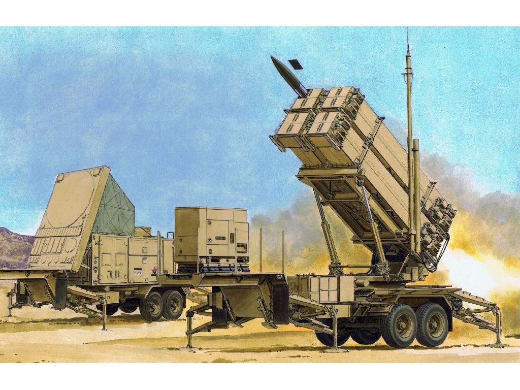 1/35 Plastikový model - military 3563 - MIM-104F PATRIOT SURFACE-TO-AIR MISSILE (SAM) SYSTEM (PAC-3)