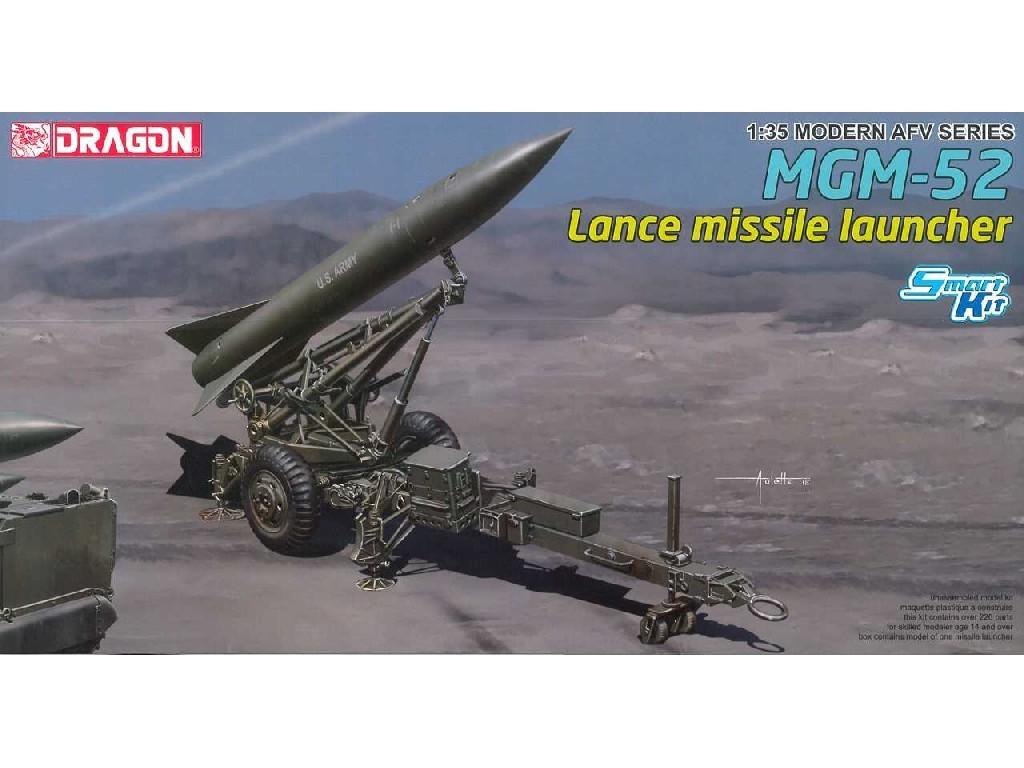 1/35 Plastikový model - military 3600 - MGM-52 Lance Missile w/Launcher (Smart Kit)