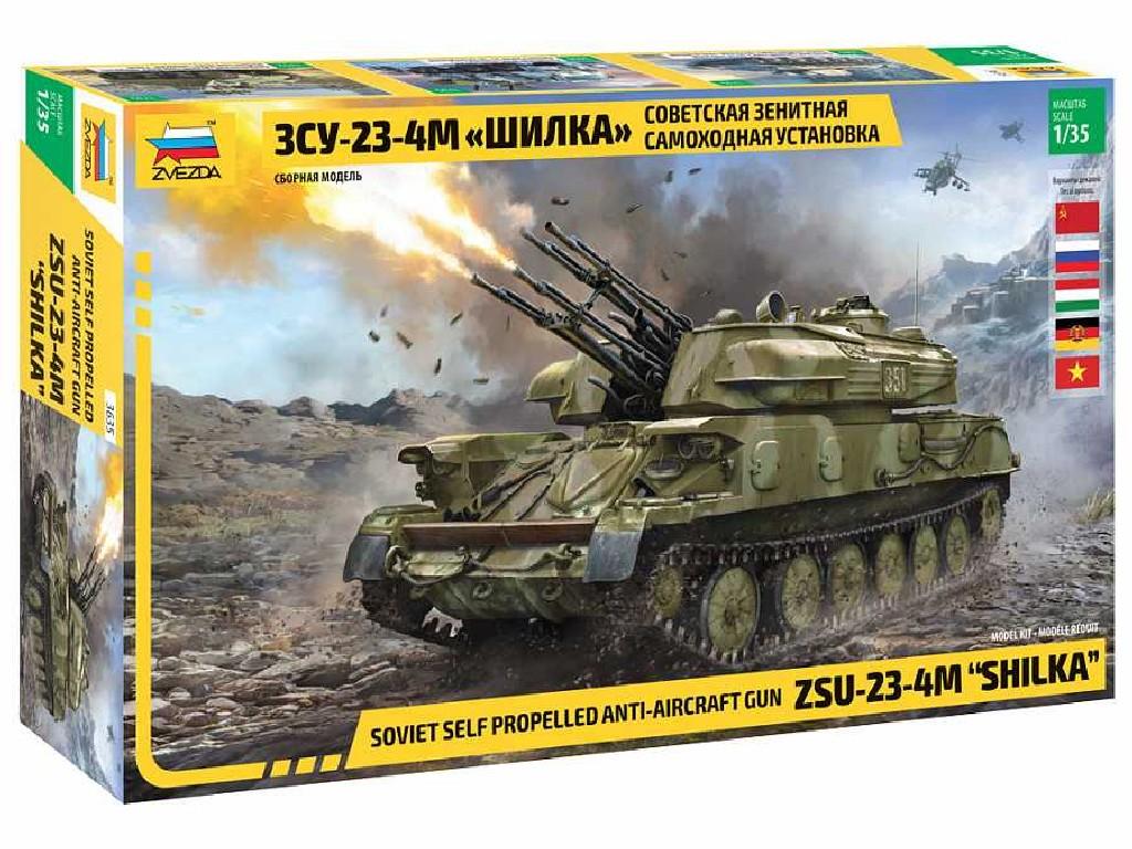 1/35 Plastikový model - military 3635 - ZSU-23-4M SHILKA