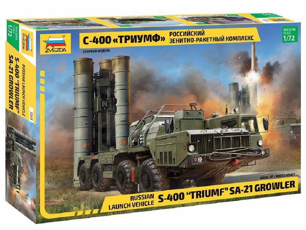 Zvezda - 5068 - S-400 Triumf Missile System 1:72