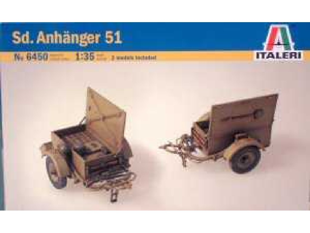1/35 Plastikový model - military 6450 - SD. ANHANGER