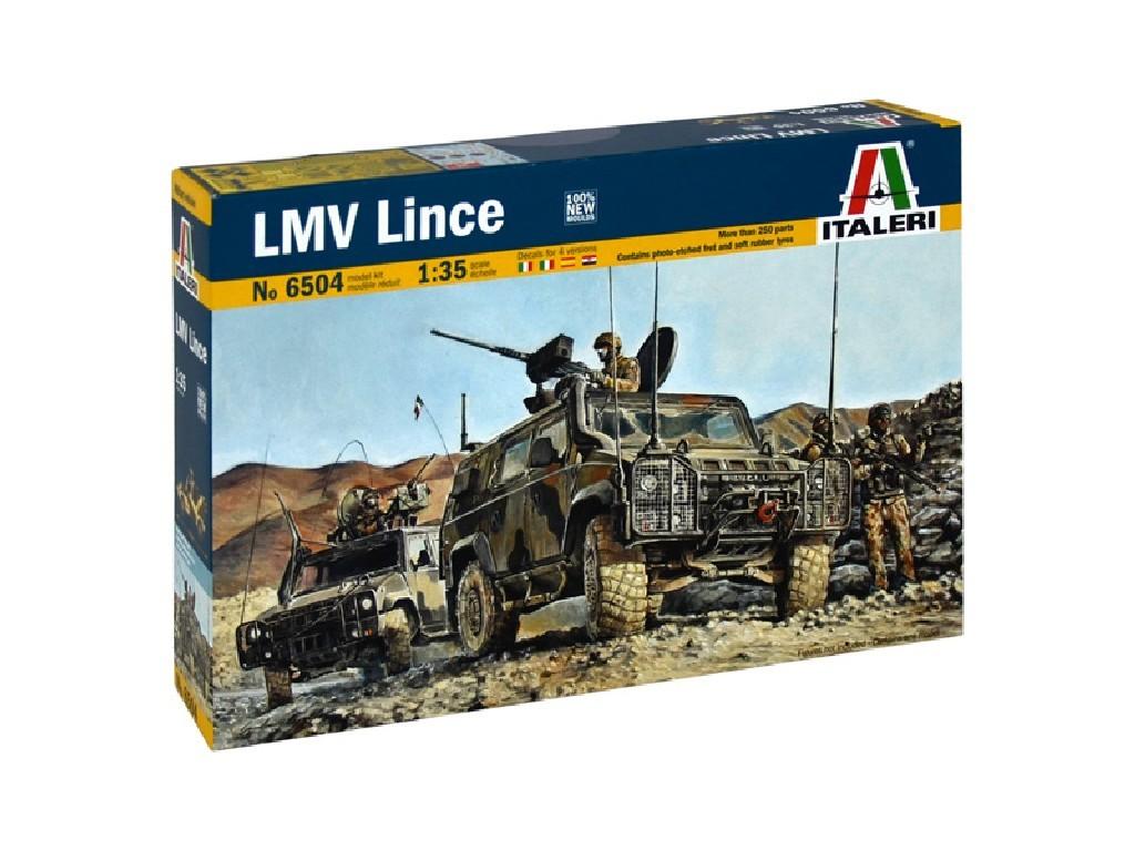 1/35 Plastikový model - military 6504 - LMV LINCE