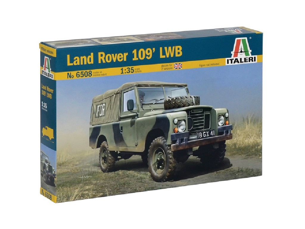 1/35 Plastikový model - military 6508 - LAND ROVER 109 LWB