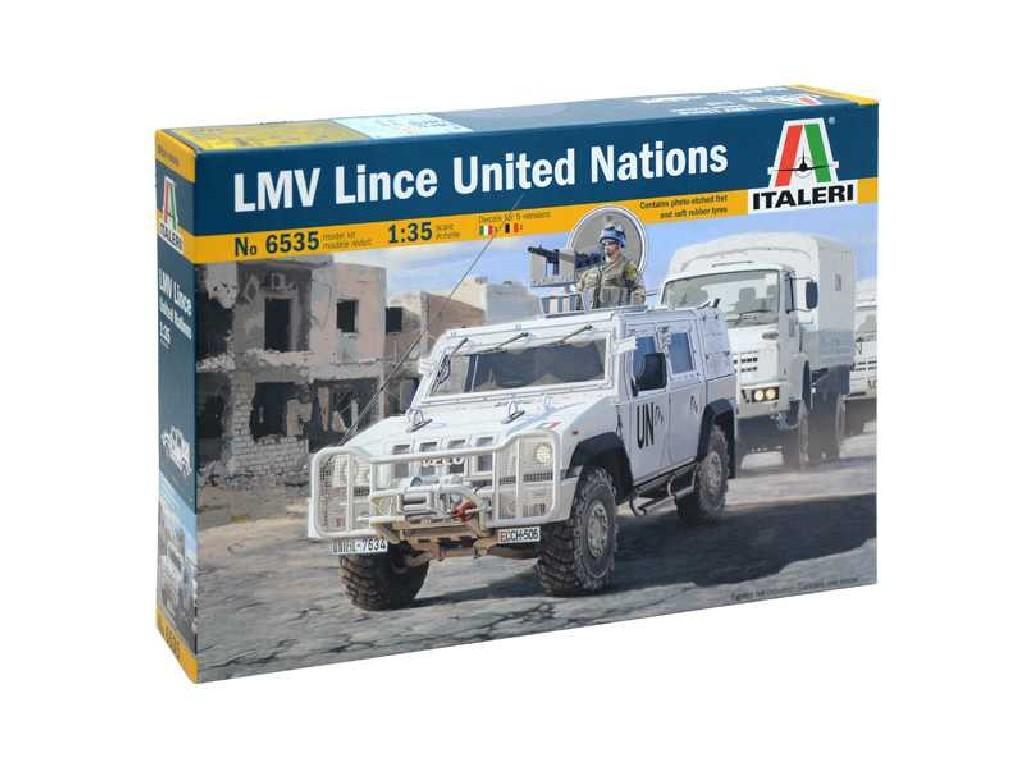 1/35 Plastikový model - military 6535 - LMV LINCE United Nations