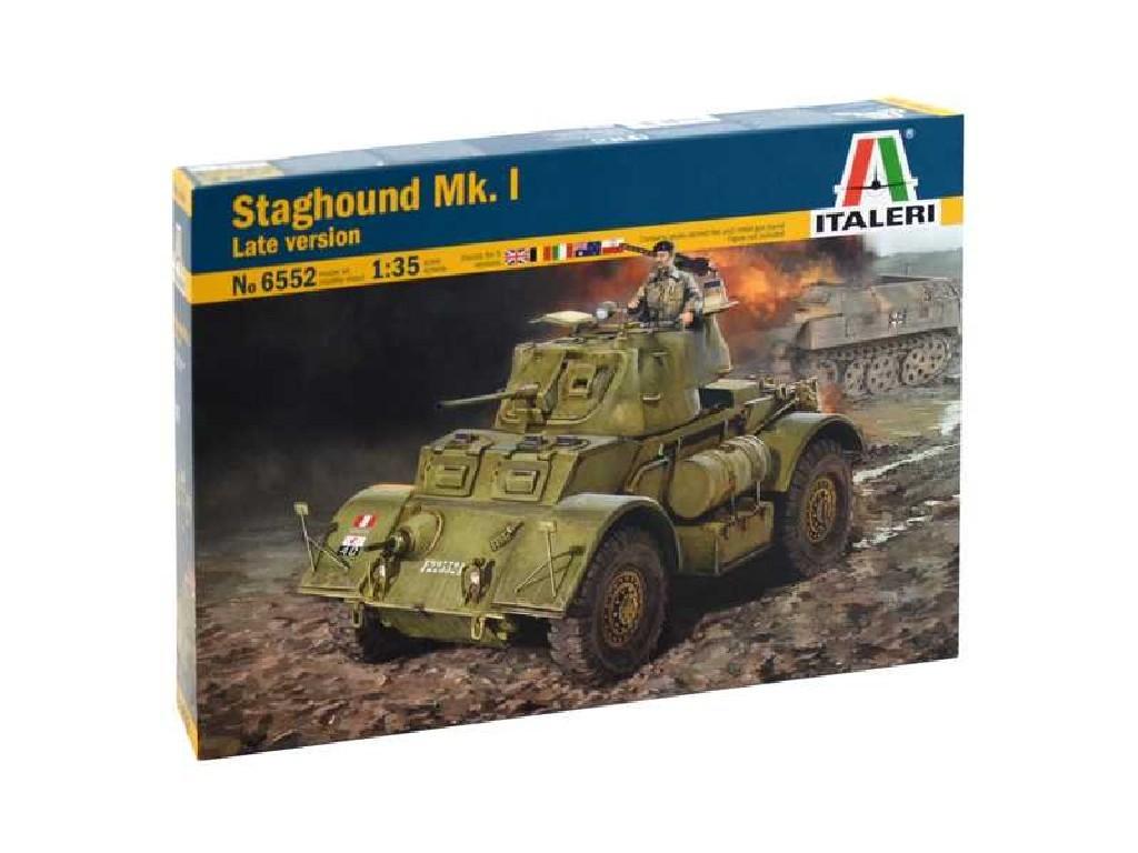 1/35 Plastikový model - military 6552 - STAGHOUND MK.I Late version