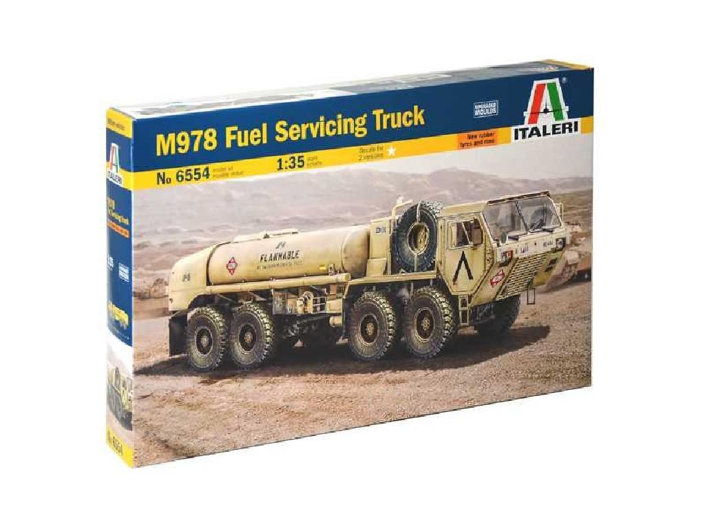 1/35 Plastikový model - military 6554 - M978 Fuel Servicing Truck