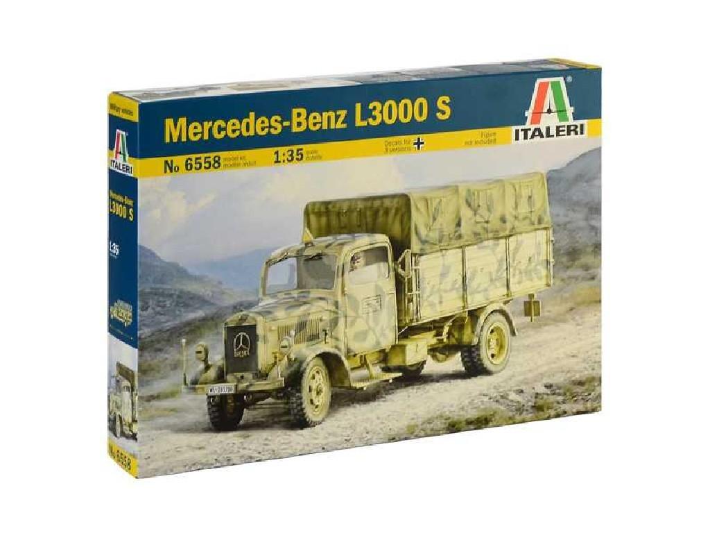 1/35 Plastikový model - military 6558 - Mercedes-Benz L3000 S