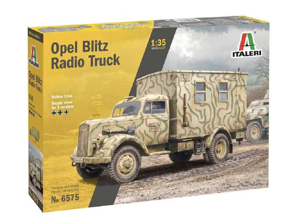 1/35 Model Kit military 6575 - Opel Blitz Radio Truck