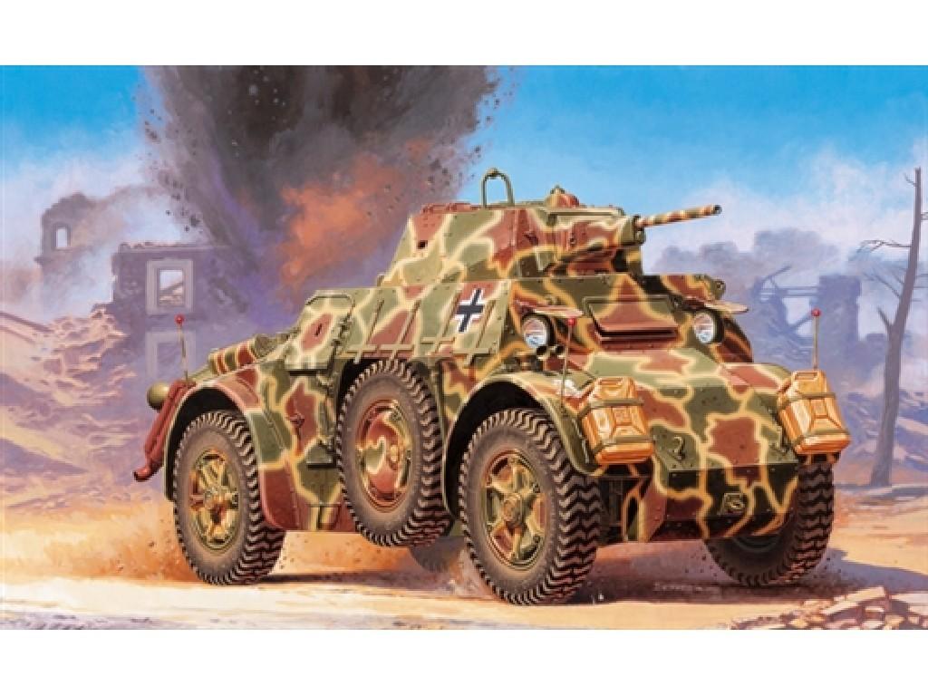 1/48 Plastikový model - military 6603 - Autoblinda AB 43