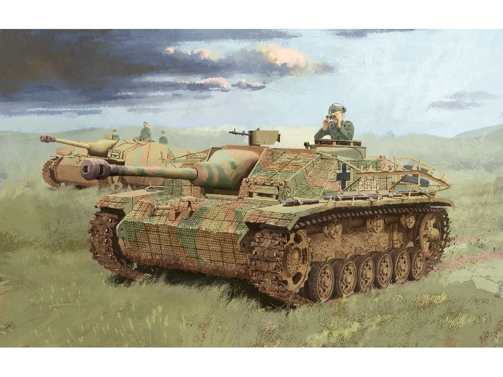 1/35 Plastikový model - military 6633 - StuG.III Ausf.G LATE PRODUCTION w/Zimmerit