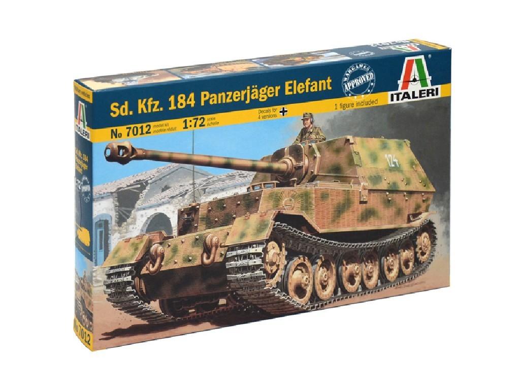 1/72 Plastikový model - military 7012 - Sd. Kfz. 184 Panzerjager Elefant