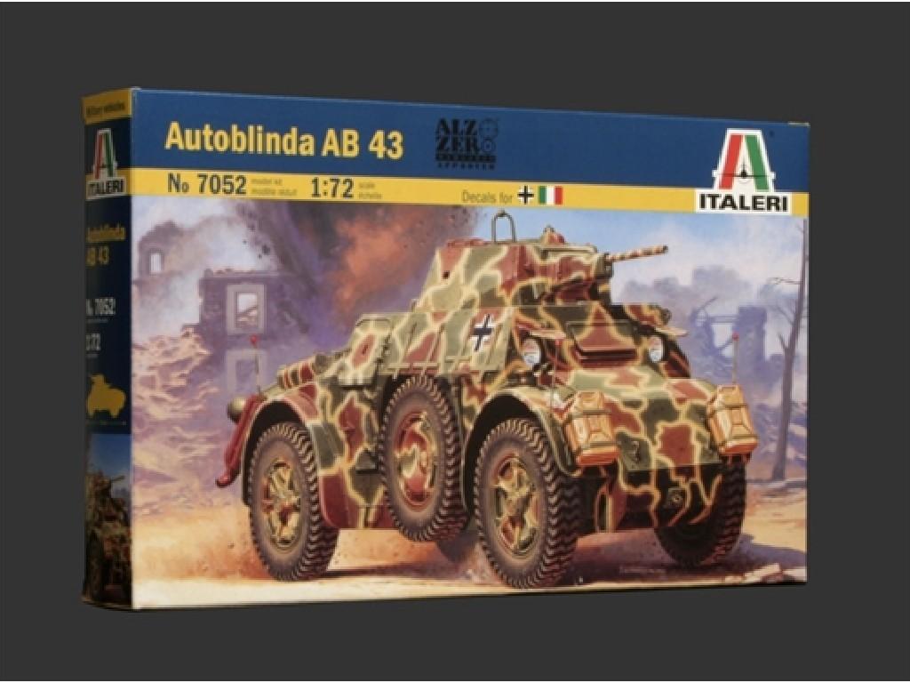 1/72 Plastikový model - military 7052 - AUTOBLINDA AB 43