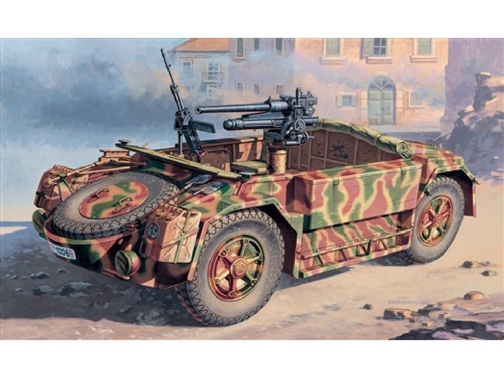 1/72 Plastikový model - military 7053 - ABM 42 with 47/32 AT Gun