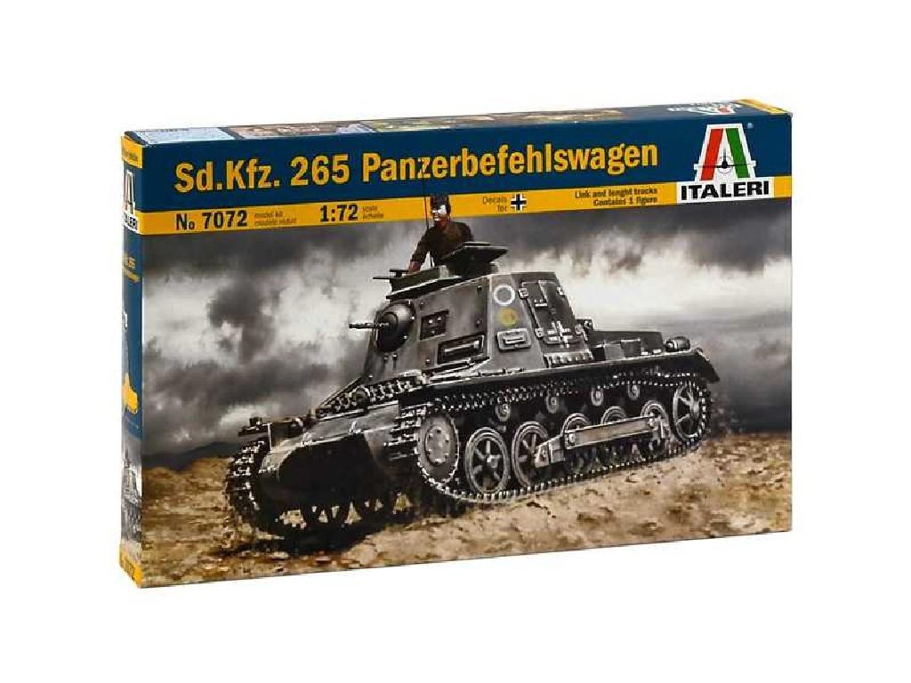1/72 Plastikový model - military 7072 - SD. KFZ. 265 PANZERBEFEHLSWAGEN