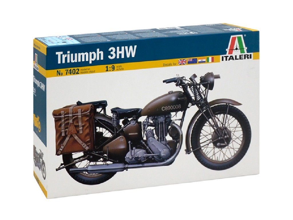 1/9 Plastikový model - military 7402 - TRIUMPH