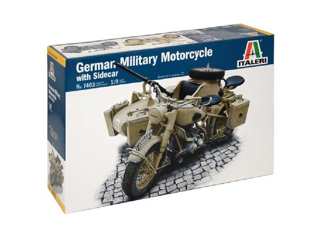 1/9 German militari motorcycle