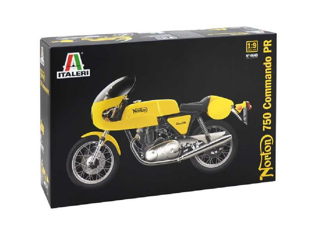 1/9 Plastikový model - motorka 4640 - NORTON 750 COMMANDO PR