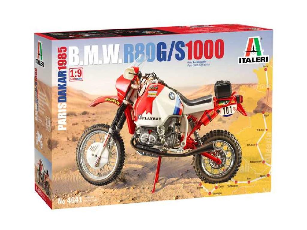 1/9 Plastikový model - motorka 4641 - BMW 1000 Dakar 1985