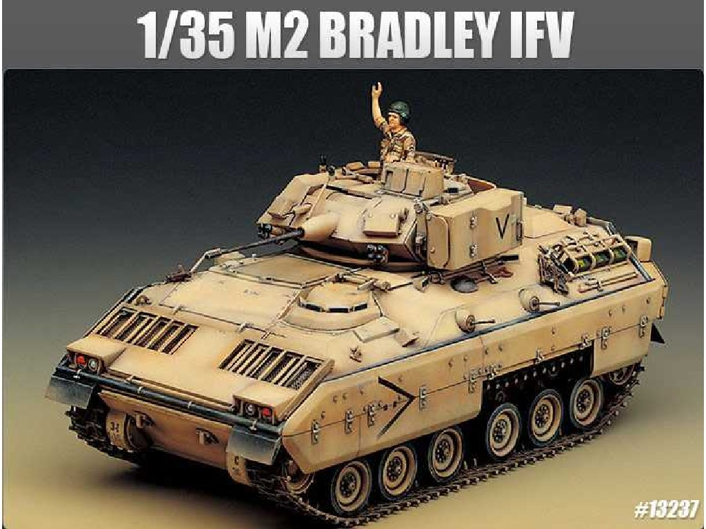 1/35 Plastikový model - tank 13237 - M2 BRADLEY IFV