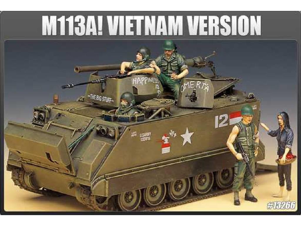 1/35 Plastikový model - tank 13266 - M113A1 VIETNAM VERSION