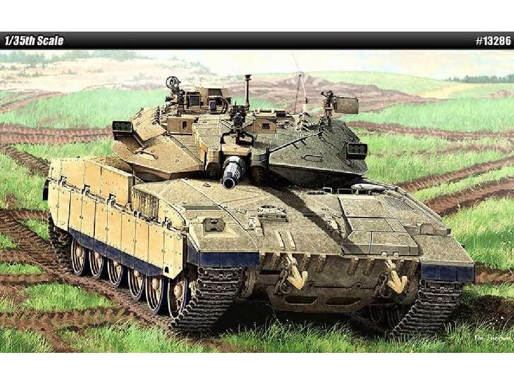 1/35 Plastikový model - tank 13286 - MERKAVA Mk.IID