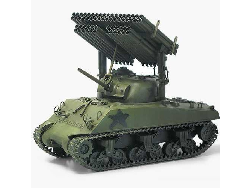 1/35 Plastikový model - tank 13294 - M4A3 Sherman W/ T34 Calliope